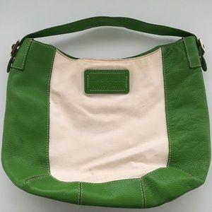 Kate Spade canvas & leather bag
